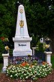 Beethoven's grave Stock Photo
