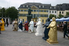 Beethoven statues Stock Images