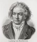 Beethovenludwig skåpbil Royaltyfria Foton