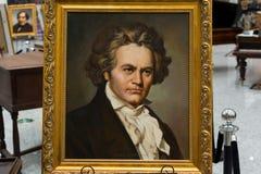 Beethovenludwig skåpbil Royaltyfri Bild