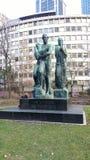 Beethovens del genio del DEM del monumento di Beethoven immagini stock libere da diritti