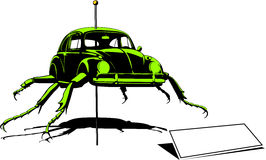 Beetle crazy mutation Stock Photography