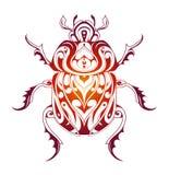 Beetle decorative tattoo Royalty Free Stock Photography
