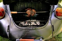 Beetle Grill Stock Photo