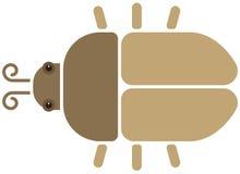 Beetle icon Royalty Free Stock Photos