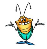 Beetle insect cartoon Royalty Free Stock Photography