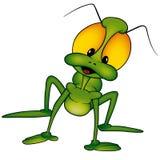 Beetle Long-legged. Cartoon illustration as vector Stock Images
