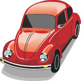 Beetle in red Stock Photos