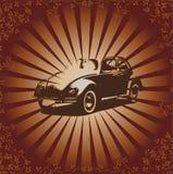 beetle retro vector Στοκ Φωτογραφία
