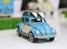 Beetle Toy Car Stock Photography