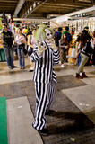 Beetlejuice at Cartoomics 2014 Royalty Free Stock Photography