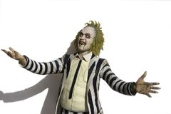 Beetlejuice Royalty Free Stock Photo