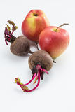 Beetroot and Apples stock image