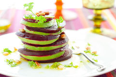 Beetroot and avocado Stock Images