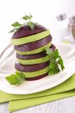 Beetroot and avocado salad Royalty Free Stock Photos