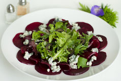 Beetroot carpaccio Stock Images