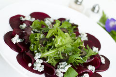 Beetroot carpaccio Stock Image