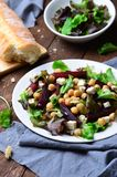 Beetroot and Chickpea Salad stock images