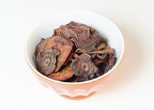 Beetroot chips Royalty Free Stock Photos