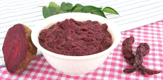 Beetroot Chutney Royalty Free Stock Images