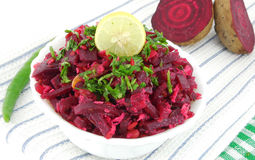 Beetroot curry. In a bowl Royalty Free Stock Photo