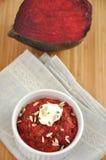 Beetroot curry'ego sałatka Zdjęcia Stock