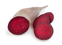 Beetroot cut Stock Photography