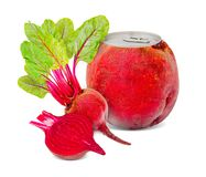 Beetroot drink Royalty Free Stock Photography