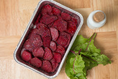 Beetroot gratin Royalty Free Stock Photo