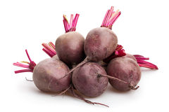 Beetroot. Group on white background royalty free stock photo