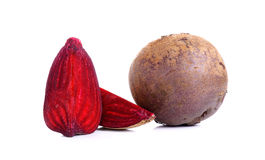 Beetroot isolated on the white background Royalty Free Stock Image