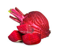Beetroot isolated on the white background Stock Image