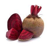 Beetroot isolated on white Stock Photo