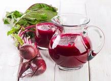 Beetroot juice Royalty Free Stock Photos
