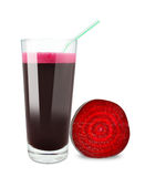Beetroot juice Royalty Free Stock Image