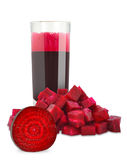 Beetroot juice Royalty Free Stock Photos