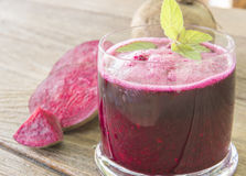 Beetroot juice Royalty Free Stock Photography