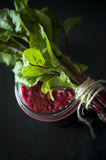 Beetroot juice Royalty Free Stock Images