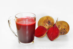 Beetroot juice Stock Photography