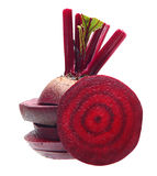 Beetroot with leaves Stock Photos