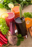 Beetroot, orange and chilli heathy juice Stock Images
