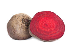 Beetroot part Royalty Free Stock Photo