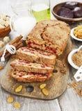 Beetroot pie with raisins Stock Photos