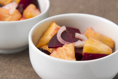 Beetroot Pineapple Salad Royalty Free Stock Images