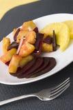Beetroot Pineapple Salad Stock Photos