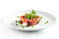 Beetroot and Potato Salad Royalty Free Stock Photos
