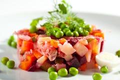 Beetroot and Potato Salad Stock Photography