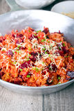 Beetroot risotto Stock Photos
