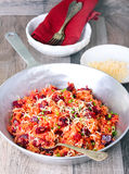 Beetroot risotto Stock Photography