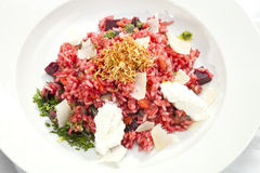 Beetroot Risotto Stock Image